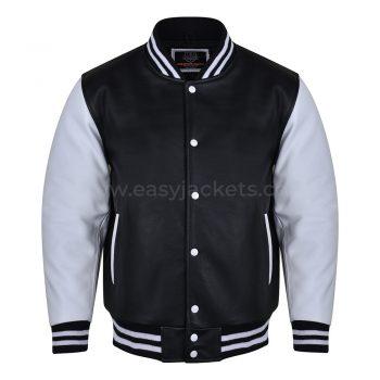 Black Cow Hide Leather jacket