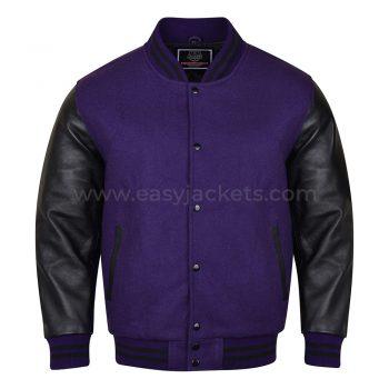 Black & Blue Varsity Jacket