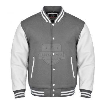 Gray Melton Wool Jacket
