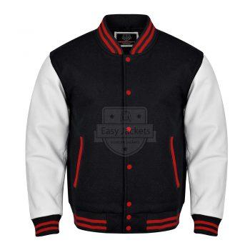 Black Varsity Jacket