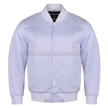 White Satin Bady & Sleeves