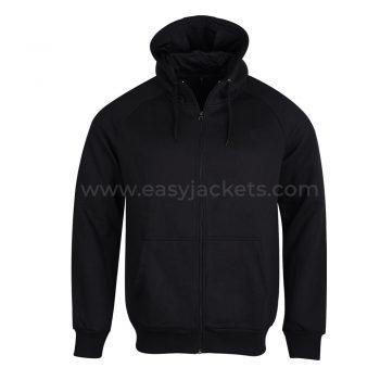 Senior Zipper Hoodie Black